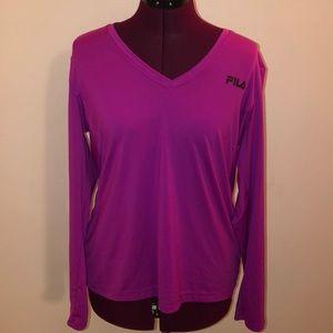FILA magenta/ purple sports shirt